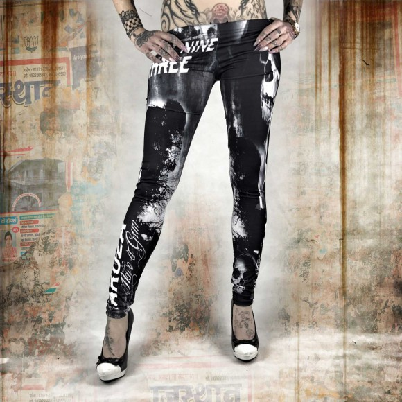 Skull Dawn Leggings