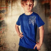 T-Shirt TS 34 Kids blue