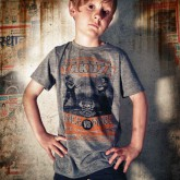 T-Shirt TSB 412 Kids grey melange